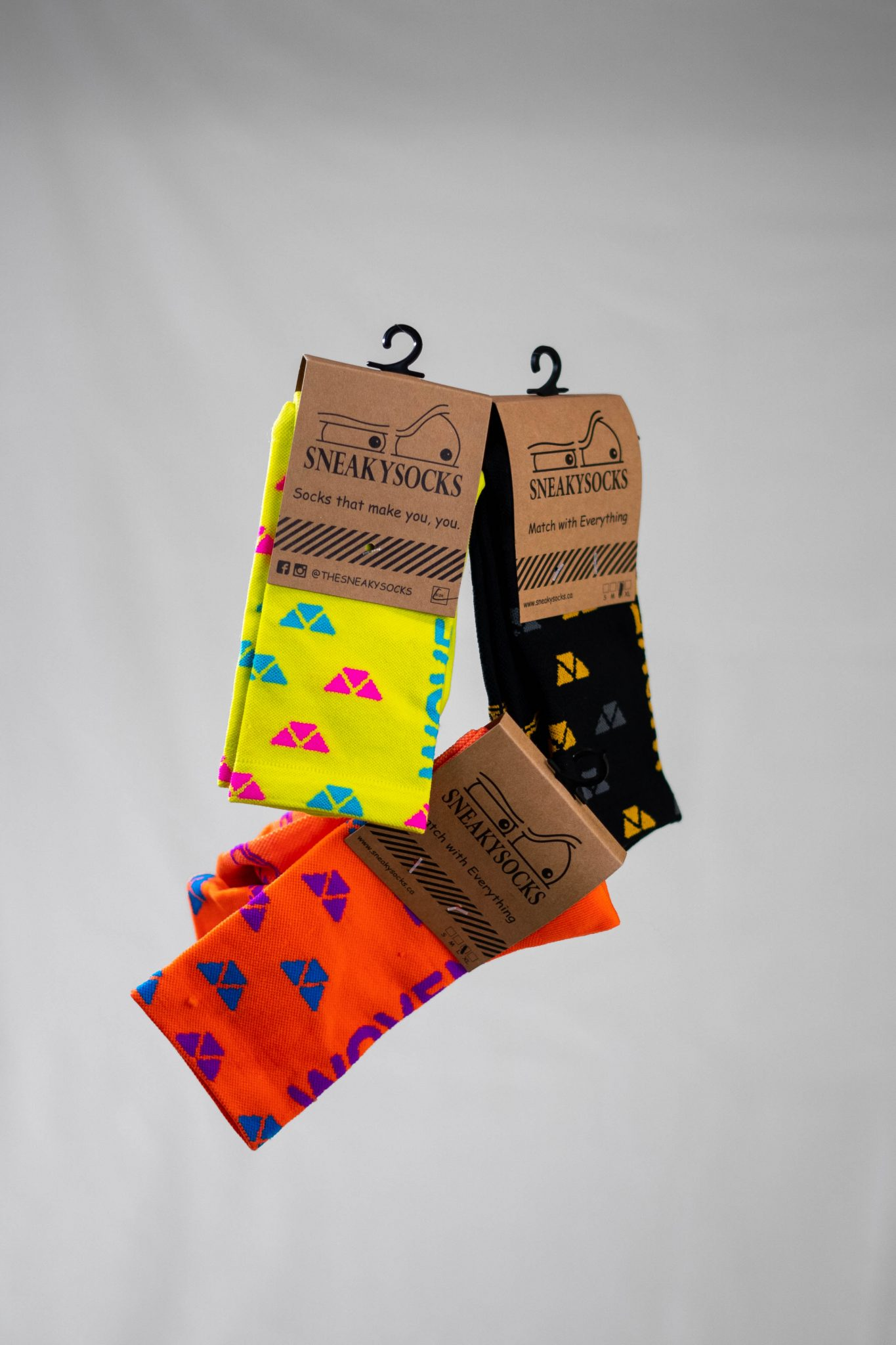 Sneaky Socks Woven Sock